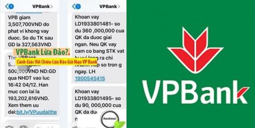 [Sự thật] Ngân hàng VPBank lừa đảo mới nhất 2021
