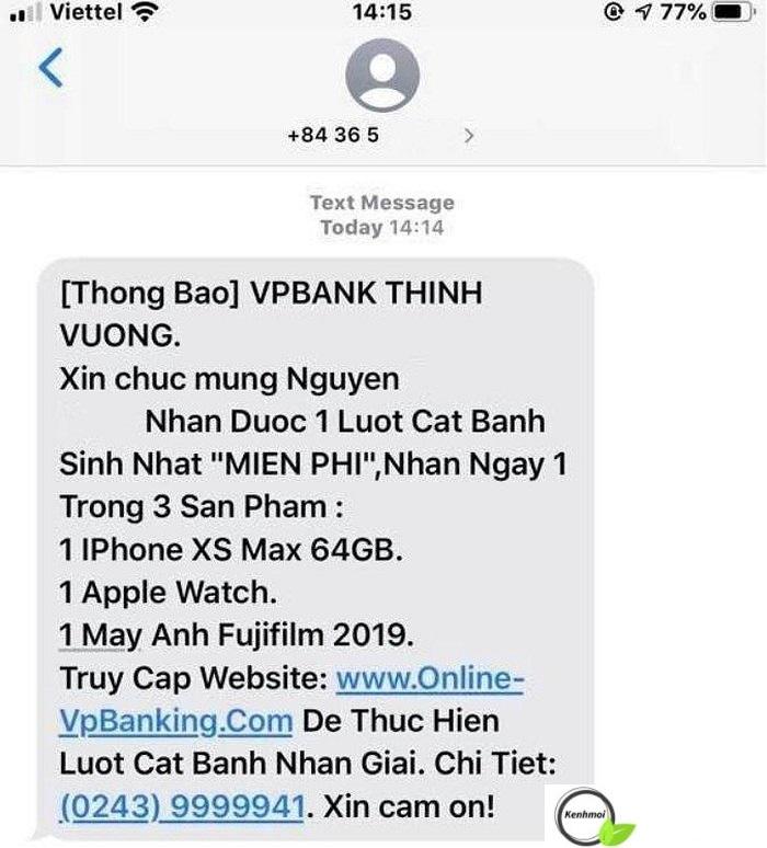 Ngân hàng VPBank lừa đảo