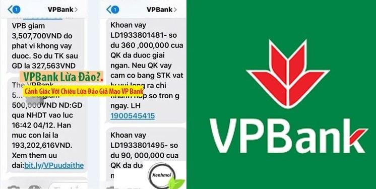 Cảnh bảo lừa dảo ngân hàng VPBank