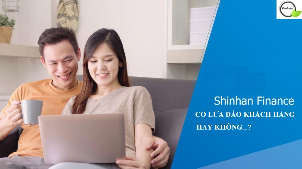 Shinhan Finance lừa đảo