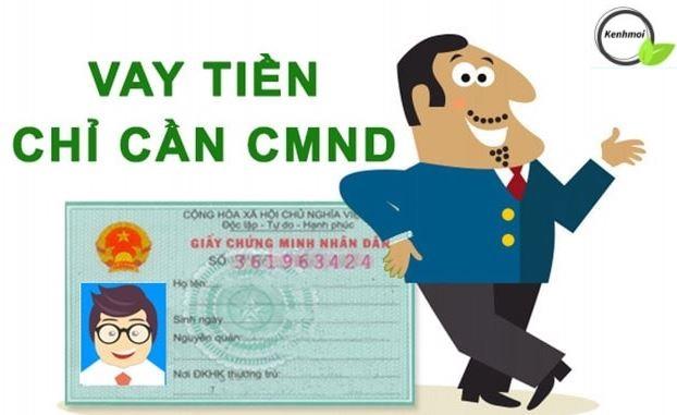 Vay tiền Online bằng CMND giải ngân nhanh chóng